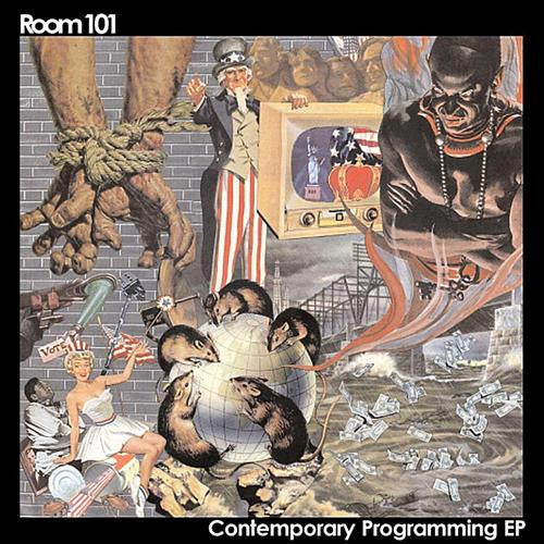 "Room 101 - Contemporary Programming 7"" - Cutthroat - Dead Beat Records"