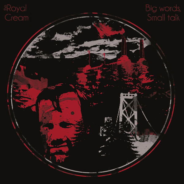 Royal Cream- Big Words Small Talk LP ~EX SEWERGROOVES / GHOST HIGHWAY!