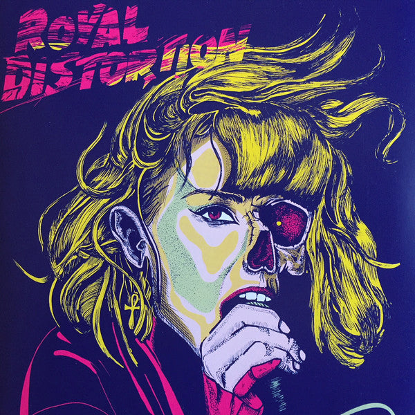 "Royal Distortion- You're A Mystery 7"" ~GHOST HIGHWAY RECORDINGS!"