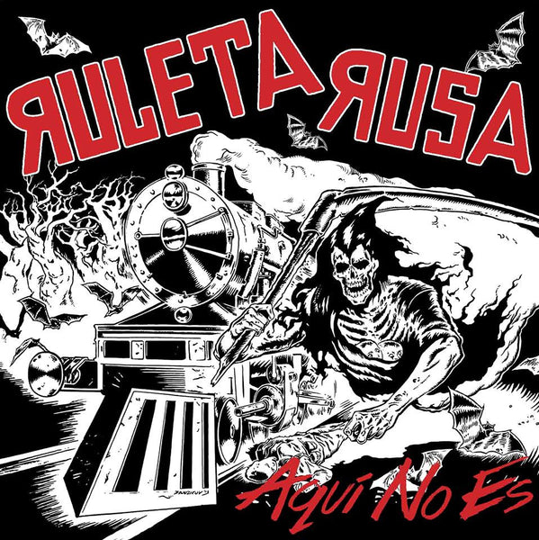 Ruleta Rusa- No Aqui Es LP ~SICK PLEASURE! - Sorry State - Dead Beat Records