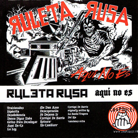 Ruleta Rusa- No Aqui Es CS  TAPE ~SICK PLEASURE!