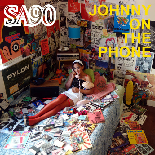 SA90- Johnny On The Phone LP ~AVENGERS!