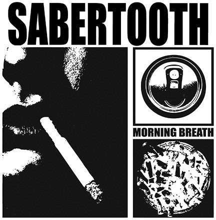 "Sabertooth- Morning Breath 7"" - Debt Offensive - Dead Beat Records"