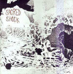 SACRED SHOCK- 'You're Not With Us' LP - residue - Dead Beat Records