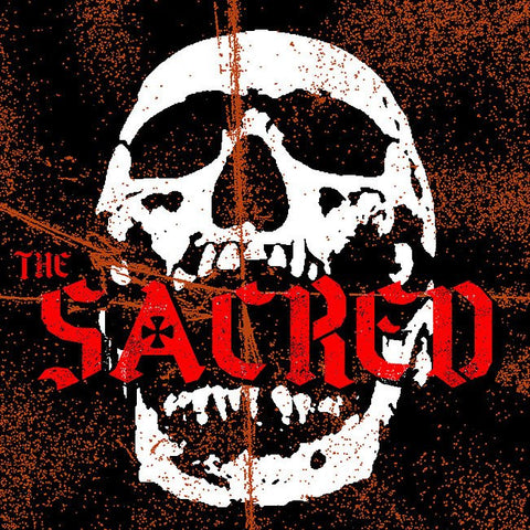 "The Sacred- S/T 7"" ~RARE CLEAR ACETATE COVER LTD 50!"