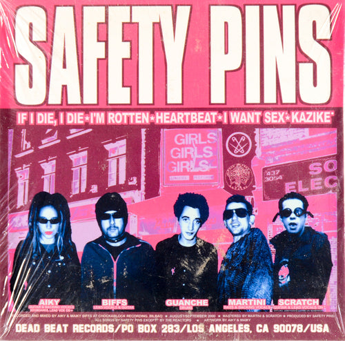 Safety Pins/Hellbenders- Split LP ~CANDY SNATCHERS! - Dead Beat - Dead Beat Records
