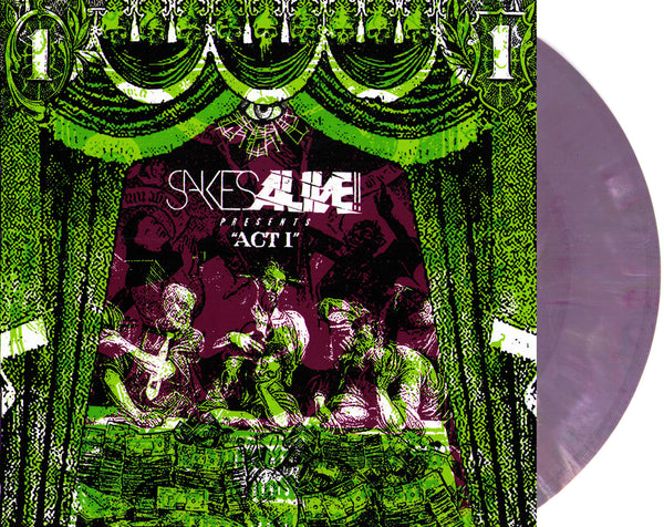 "Sakes Alive!! - Act I 7"" ~ LTD 400 MARBLE WAX! - Barrett - Dead Beat Records"