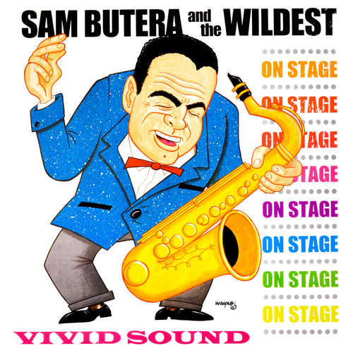 Sam Butera And The Wildest- On Stage LP ~LOUIS PRIMA!