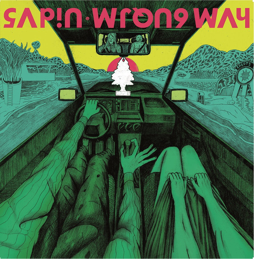 Sapin- Wrong Way LP ~BRIMSTONE HOWL! - Beast - Dead Beat Records