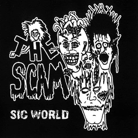 The Scam- Sic World CD ~REISSUE!