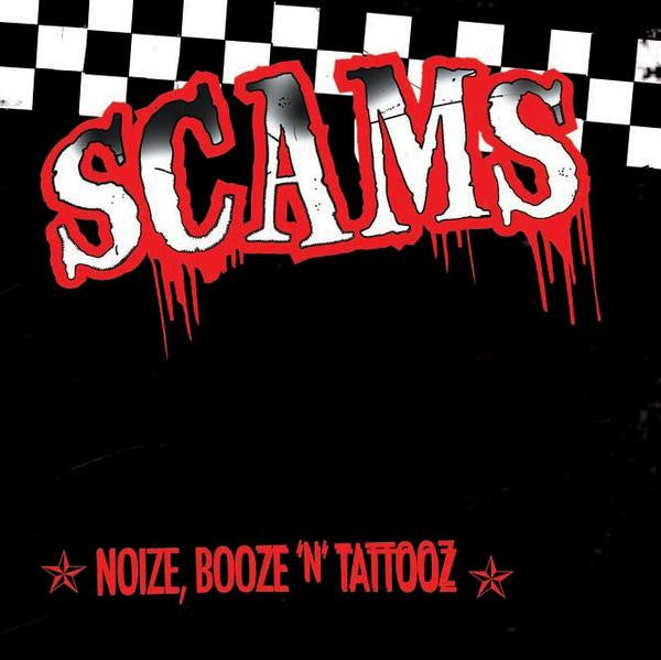 THE SCAMS- Noize, Booze 'n' Tattooz CD ~NASHVILLE PUSSY! - Zorch - Dead Beat Records