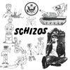 Schizos- S/T LP ~RARE OUT OF PRINT FIRST PRESSING / REATARDS!
