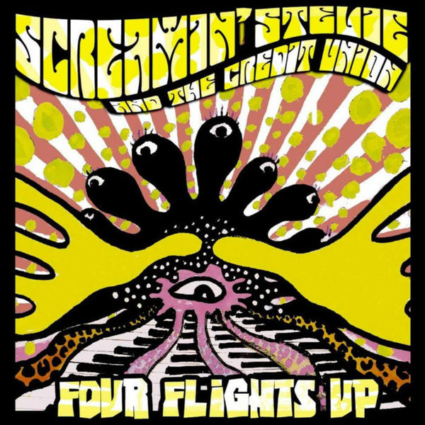 Screamin' Stevie And The Credit Union- Four Flights Up CD ~EX HEKAWIS!