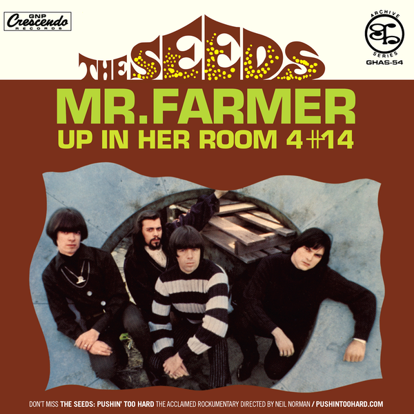 "Seeds- Mr Farmer 7"" ~REISSUE!"