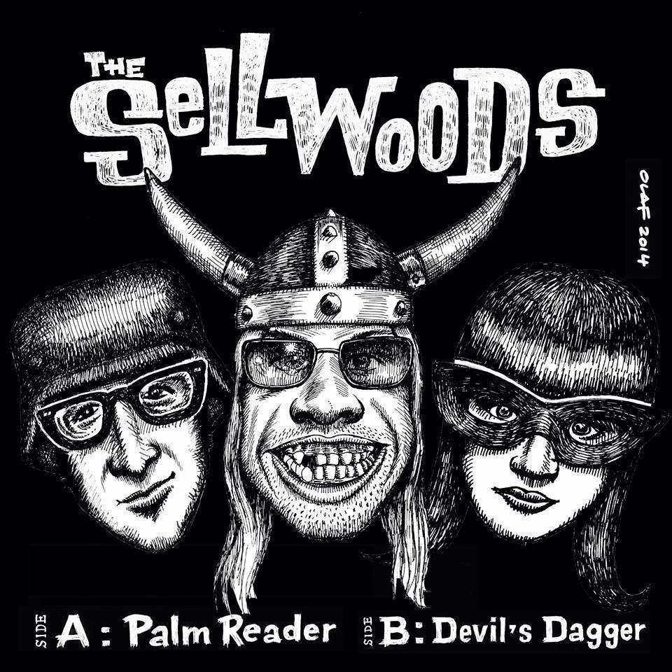 "The Sellwoods- Palm Reader 7"" - Sellwoods - Dead Beat Records"