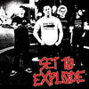"Set To Explode- S/T 7"" ~EX 86 MENTALITY - Grave Mistake - Dead Beat Records"