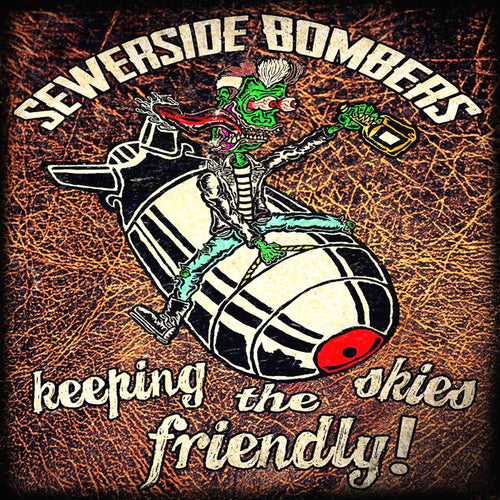 Sewerside Bombers- Keeping The Skies Friendly CD ~NASHVILLE PUSSY!
