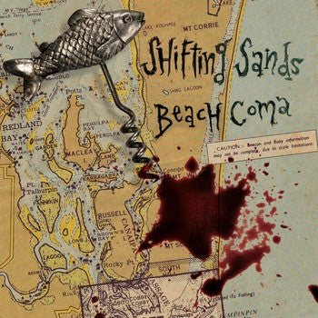 Shifting Sands- Beach Coma LP ~EX SIXFTHICK - Beast - Dead Beat Records