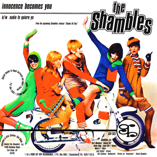 "Shambles- Innocence Becomes You 7"" ~EX MANUAL SCAN!"