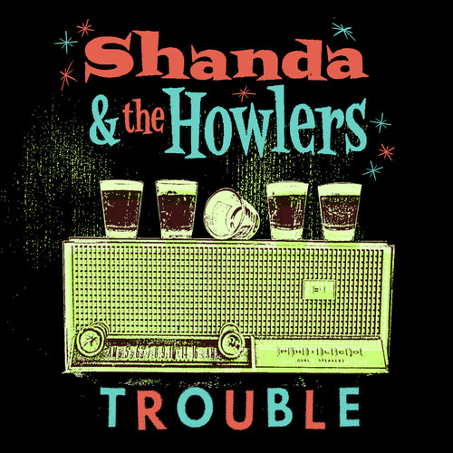 Shanda & The Howlers-Trouble CD ~WANDA JACKSON!