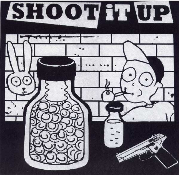 "Shoot it Up- Outta Control 7"" - Criminal IQ - Dead Beat Records"