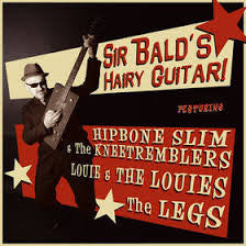 Sir Bald Diddley- Hairy Guitar LP - Beast - Dead Beat Records