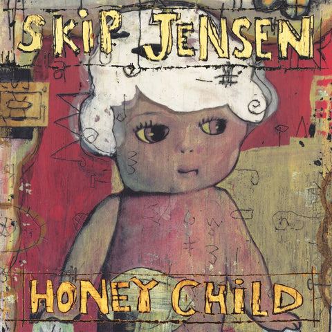 "Skip Jensen- Honeychild 7"" ~EX DEMON'S CLAWS - La Ti Da - Dead Beat Records"