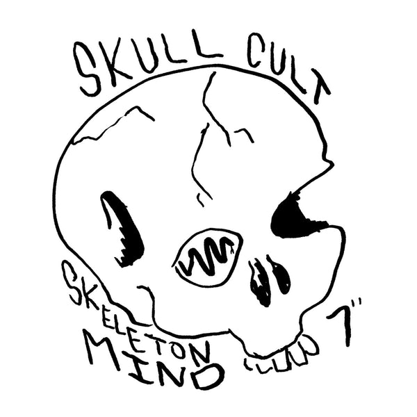 "Skull Cult- Skeleton Mind 7"" ~HAND NUMBERED OUT OF 85 COPIES!"