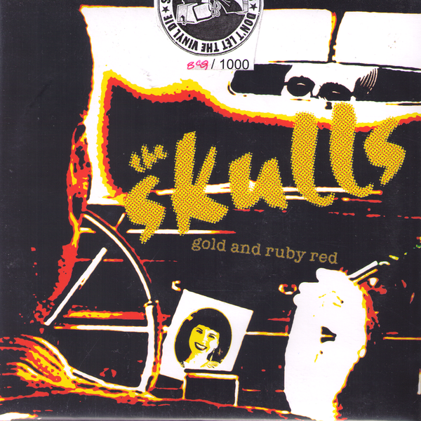 "The Skulls- Gold And Ruby Red 7"" ~EARLY LA PUNK!"
