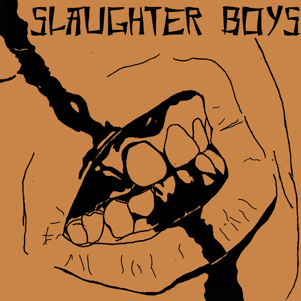 "Slaughter Boys- S/T 7"" ~RARE METALLIC BRONZE COVER LTD TO 50!"