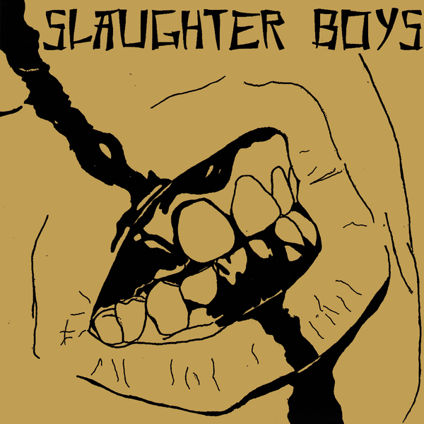"Slaughter Boys- S/T 7"" ~RARE METALLIC GOLD COVER LTD TO 50!"