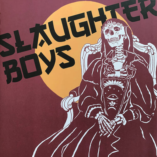 Slaughter Boys- S/T LP ~PARTISANS / SECOND PRESS RED COVER!