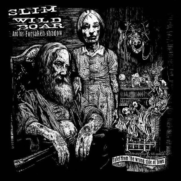 Slim Wild Boar– Tales From The Wrong Side Of Town CD - Beast - Dead Beat Records