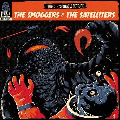 "Smoggers/Satelliters- Split 2x7"" ~W/ GATEFOLD COVER!"