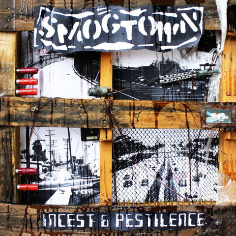 Smogtown- Incest & Pestilence CD ~KILLER! - Modern Action - Dead Beat Records