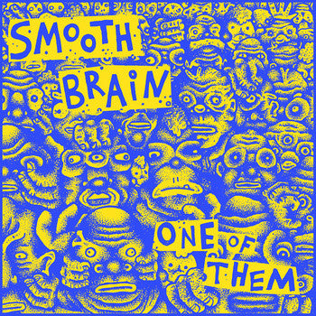 "Smooth Brain- One Of Them 7"" ~EX 9 SHOCKS TERROR! - Lost Cat - Dead Beat Records"