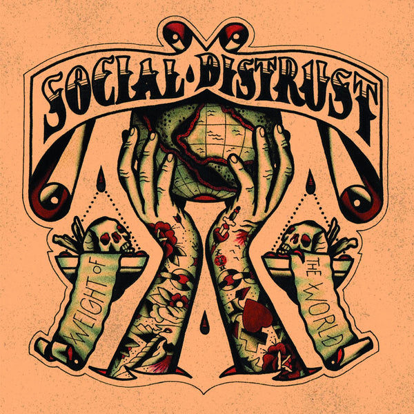 Social Distrust- Weight Of The World LP ~WANDA RECORDS!