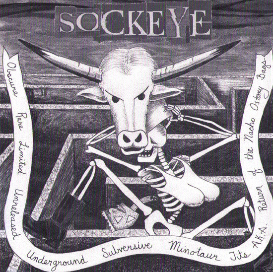 SOCKEYE- 'Obscure, Rare, Limited and Unreleased' CD - Reality Impaired - Dead Beat Records