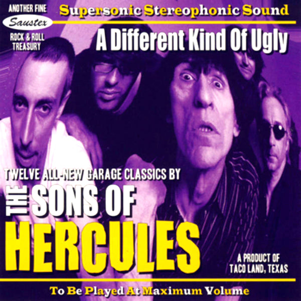 Sons Of Hercules- A Different Kind Of Ugly CD