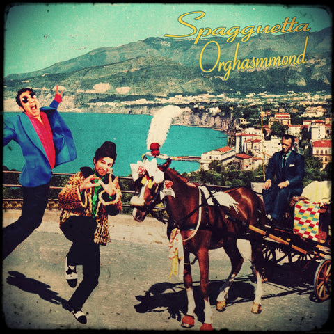 "Spagguetta Orghasmmond- Coppi & Bartali 7"" ~200 COPIES PRESSED! - Hovercraft - Dead Beat Records"