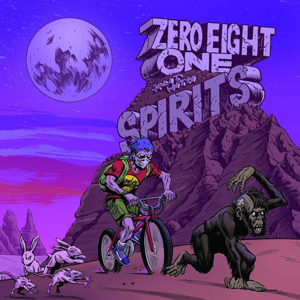 "Spirits / Zero Eight One- Split 7"" ~RARE YELLOW WAX LTD TO 182 COPIES!"