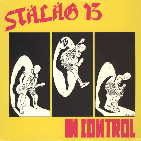 STALAG 13- In Control CD ~REISSUE!