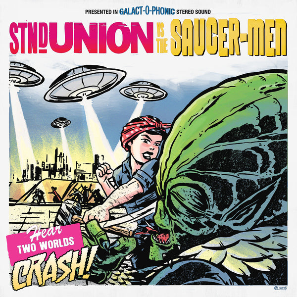 "Standard Union / Saucer-Men - Split 7"" ~FLOGGING MOLLY!"