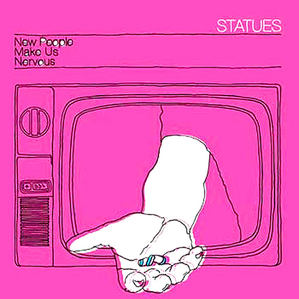 Statues - New People Make Us Nervous LP ~RARE RED WAX!