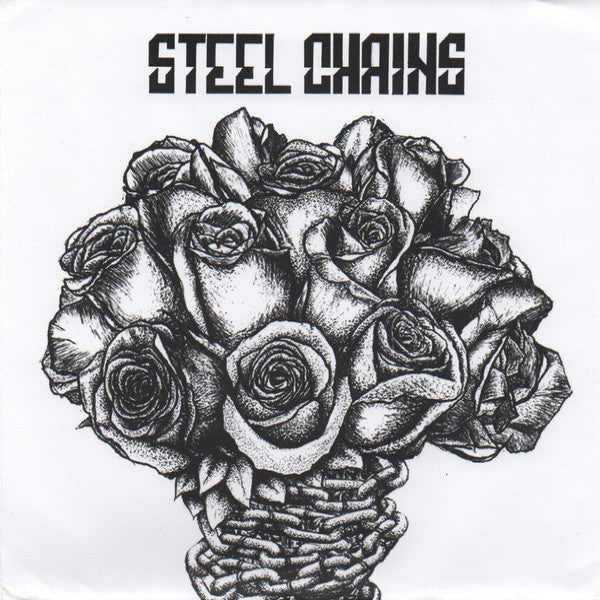 "Steel Chains- S/T 7"" ~EX CLOROX GIRLS / OBSERVERS!"