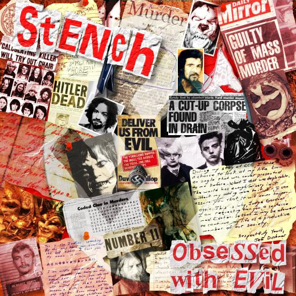 Stench- Obsessed With Evil LP ~LIMITED TO 500! - Pure Punk - Dead Beat Records