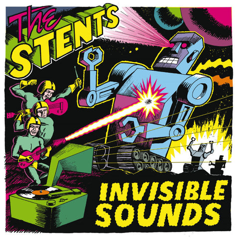 Stents- Invisible Sounds LP ~THE LYRES! - Ghost Highway - Dead Beat Records