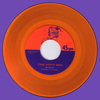 "Steve Adamyk Band- High Above 7"" ~ORANGE WAX LTD TO 100! - La Ti Da - Dead Beat Records - 1"