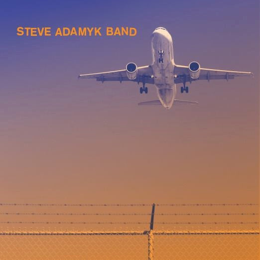 "Steve Adamyk Band- High Above 7"" ~ORANGE WAX LTD TO 100! - La Ti Da - Dead Beat Records - 2"