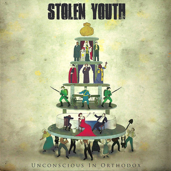 Stolen Youth- Unconscious In Orthodox LP ~RARE 150 COPIES PRESSED!